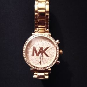 Michael Kors woman's rose gold watch